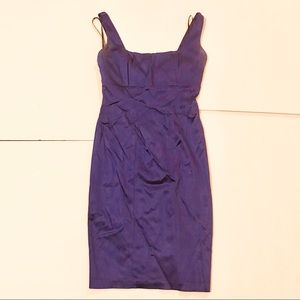 Calvin Klein purple sheath dress